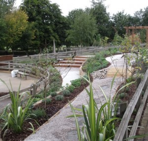 Liss infant school landscaping