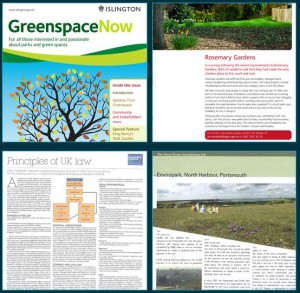 greenspace now islington council