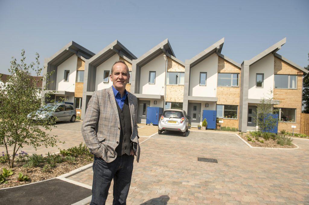 Zero carbon footprint for southampton social housing for Zero footprint homes
