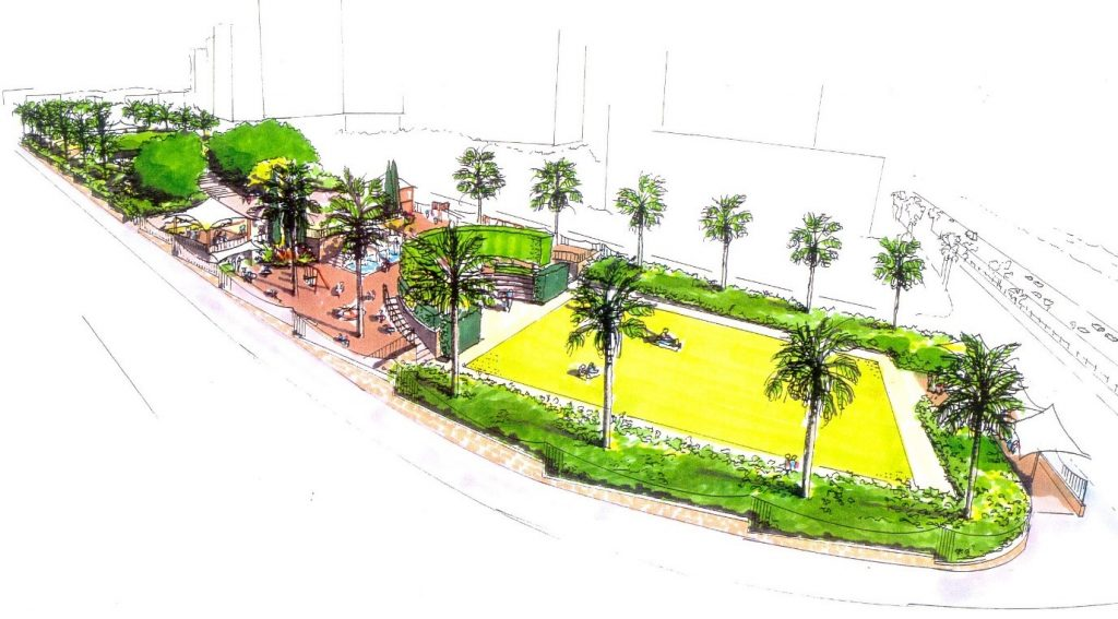 Selsey Feasibility Sketch For Waterfront Park In Beirut