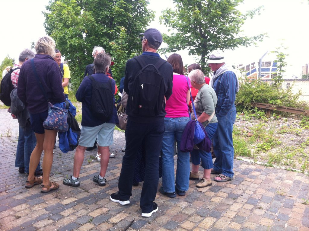 Discussions at the Arundel canal design workshop