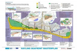 Hayling Island Seafront, Landscape Architecture, Masterplanning