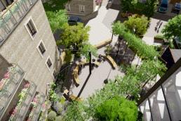 St Clare, Landscape Architecture, Residential, Hampton Hill, London