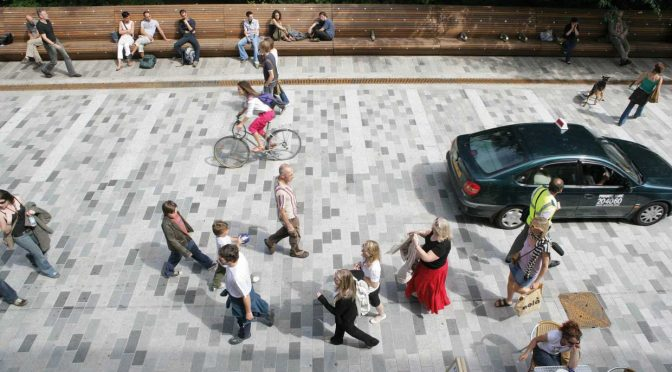 Public space and the fate of the high street …   by Davon Bree