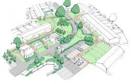 Houghton Regis, Masterplanning, Landscape Architecture