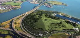 Enviropark, Portsmouth, Landscape Architecture, Masterplanning
