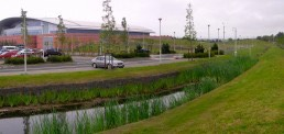 NATS Air Traffic Control, Prestwick, Landscape Architecture, Corporate and Commercial
