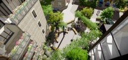 St Clare, Landscape Architecture, Residential, Hampton Hill, London