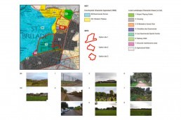 Les Quennevais School, Environmental Impact Assessment, Landscape Architecture